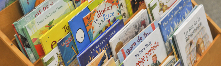 French children's picture books.